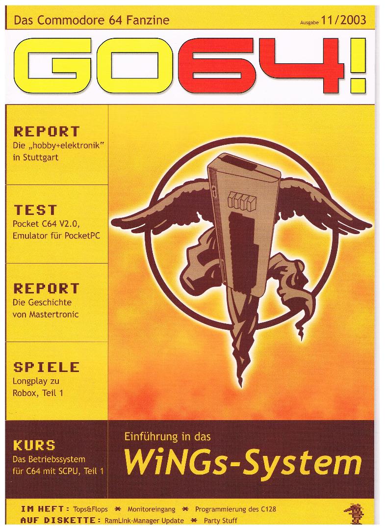 Ausgabe 11/03 - 2003