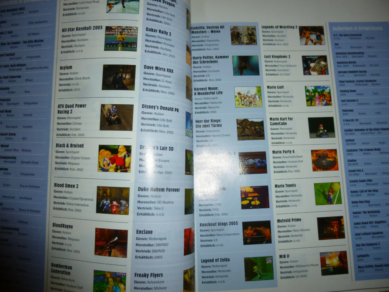 Gamecube Jahrbuch 2002 3