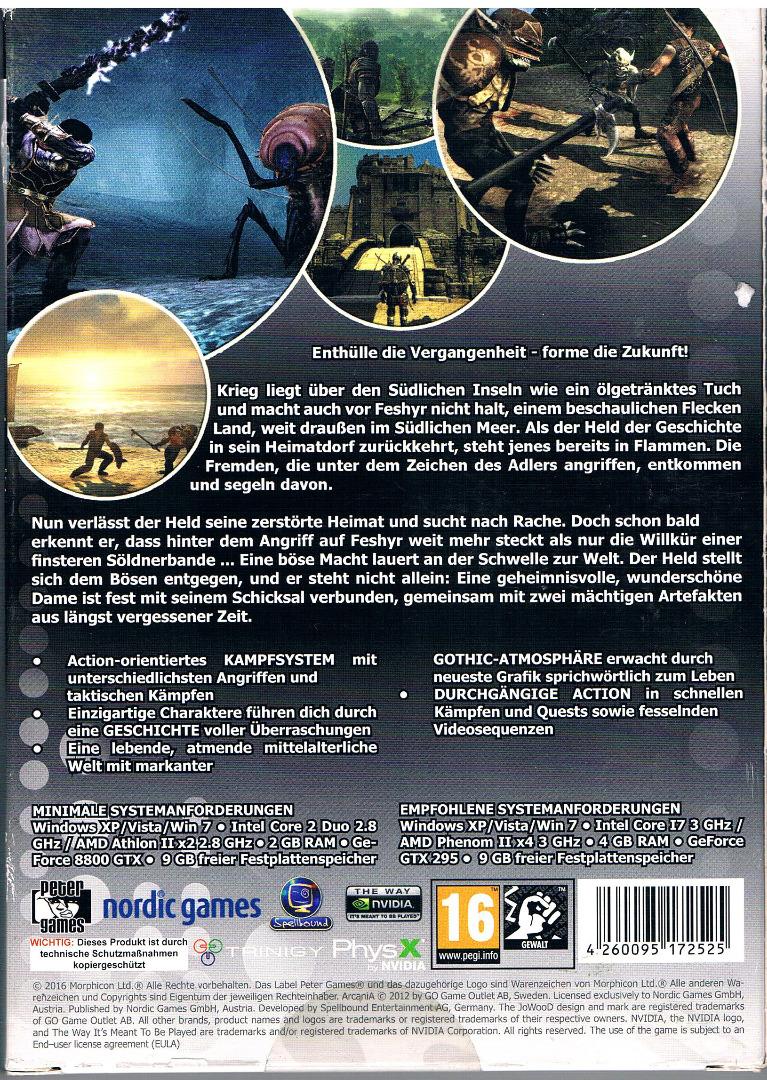 PC-Spiel DVD-ROM - Arcania 2