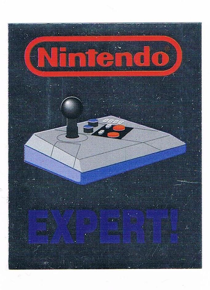 Nintendo NES Advantage Sticker