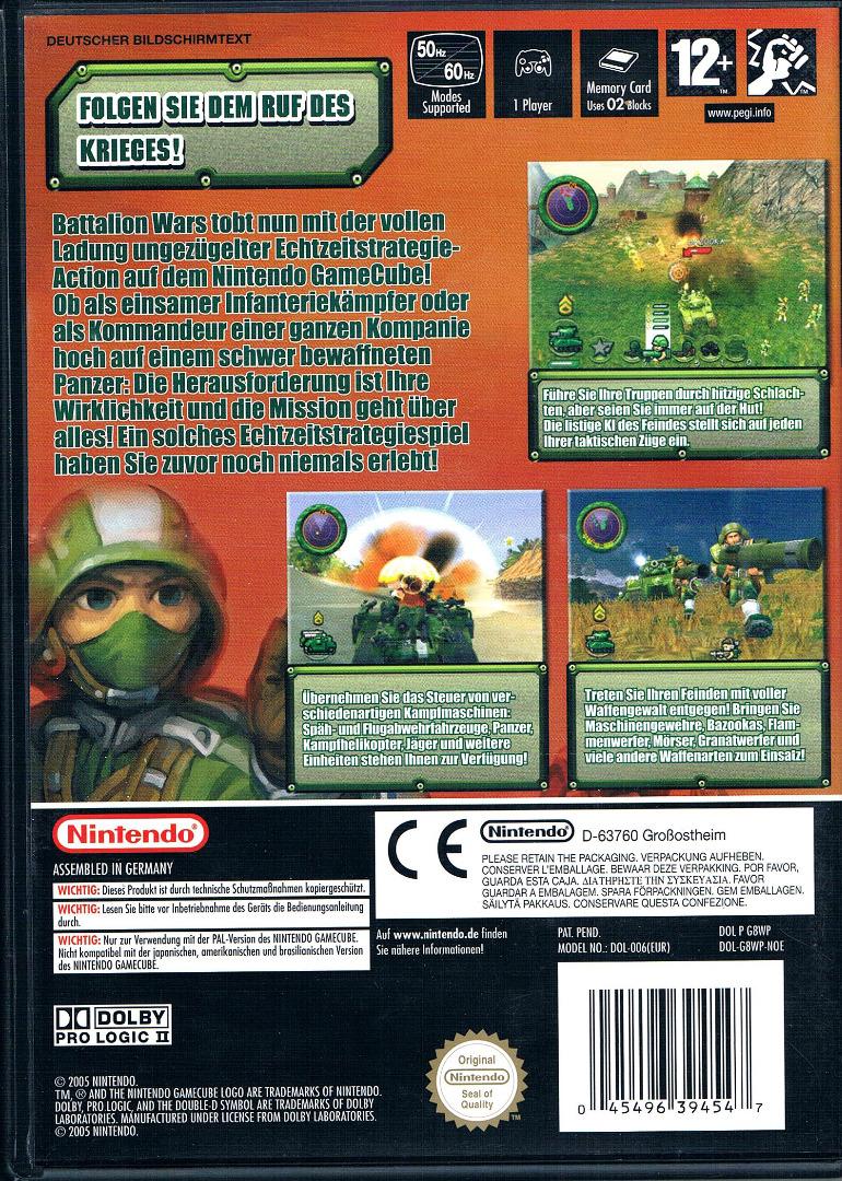 Nintendo GameCube - Battalion Wars 2