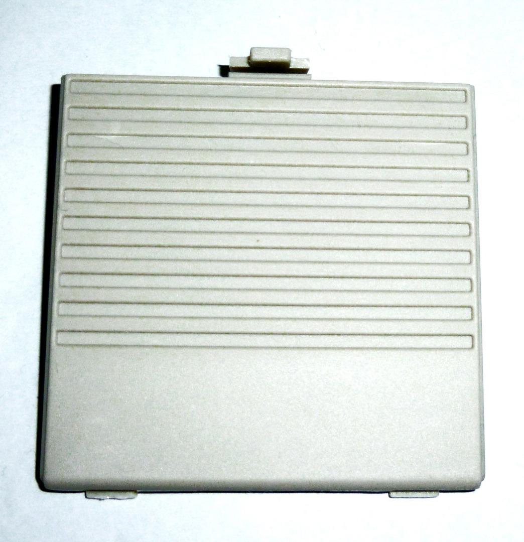 Batterie Ersatz Deckel Klappe grau Gameboy - 1