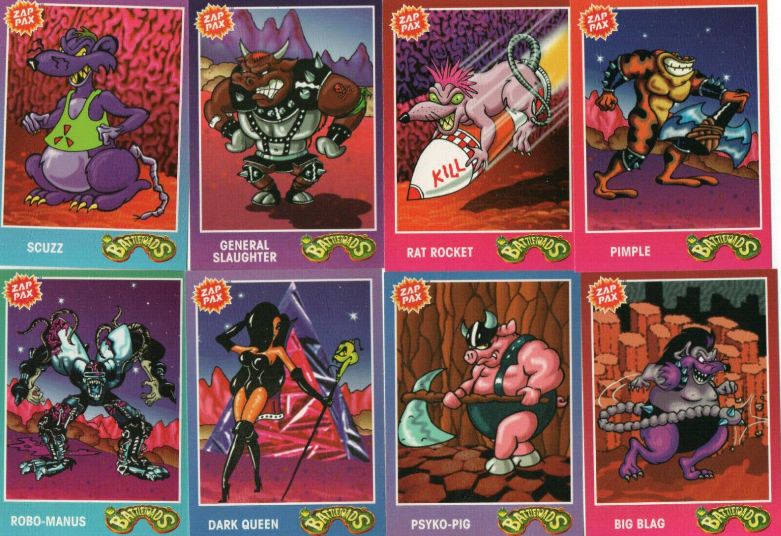 Battletoads - Trading Cards - 1
