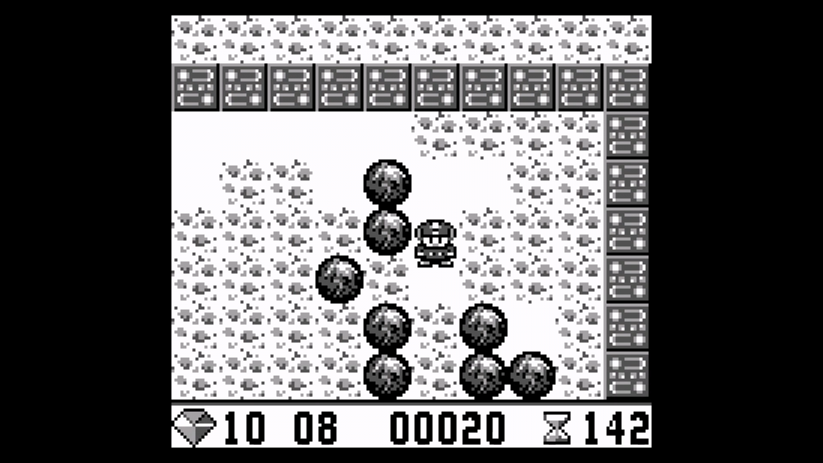 Nintendo Game Boy - Boulder Dash