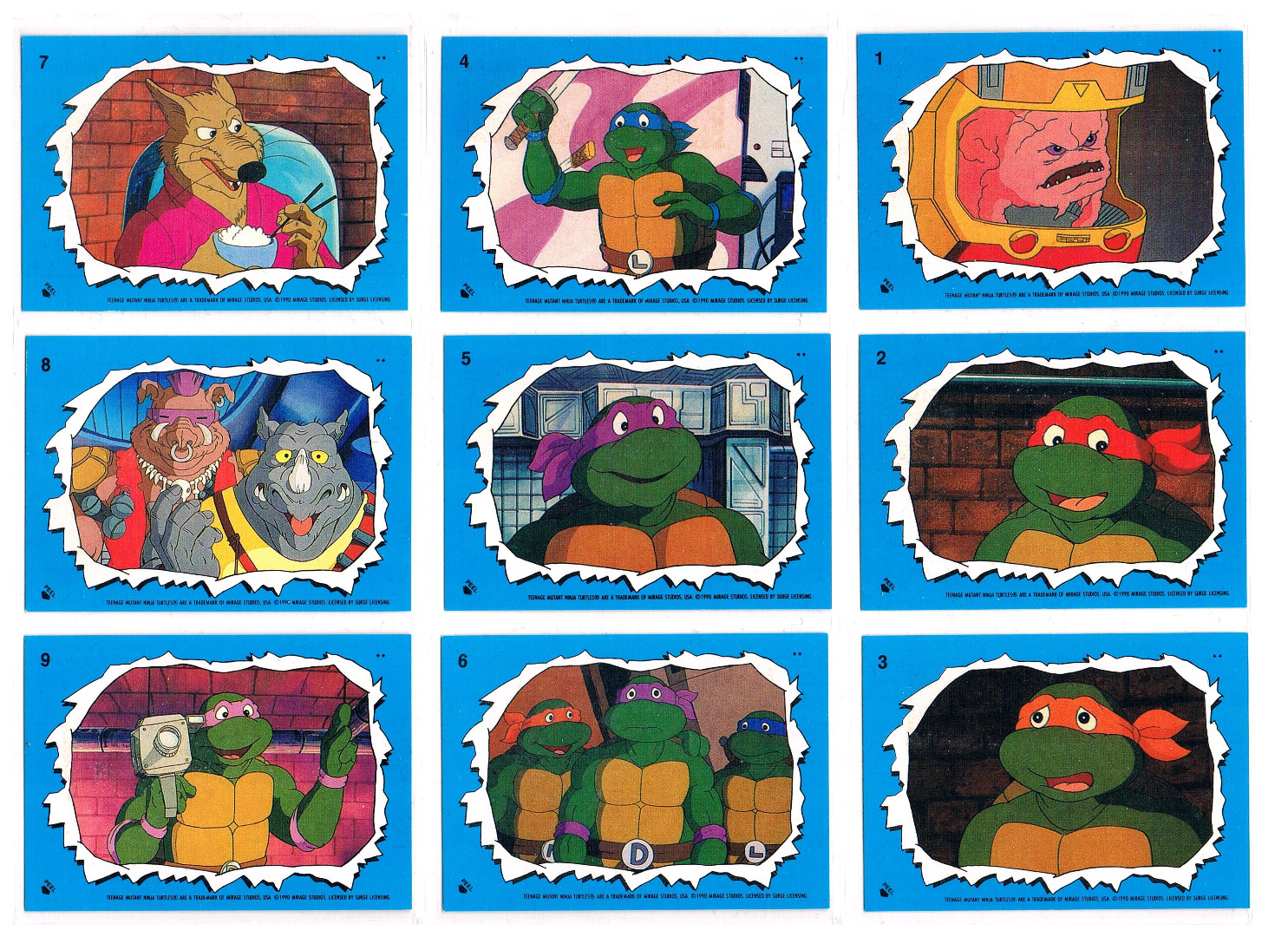 Teenage Mutant Ninja Turtles Sticker von