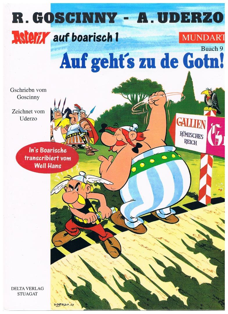 Asterix auf Boarisch Auf geht s zu