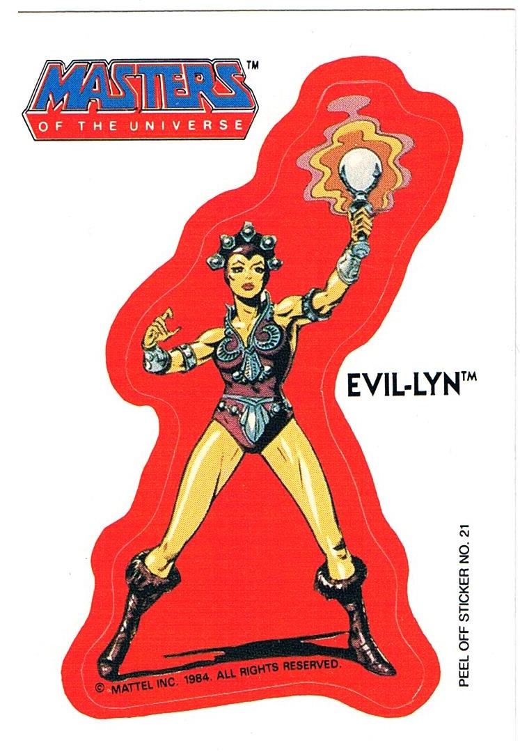 Masters of the Universe Sticker Evil-Lyn