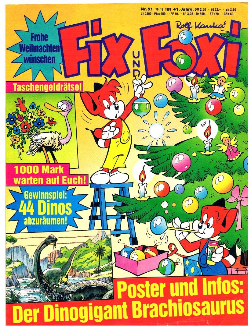 Fix und Foxi Comic Nr51 41Jahrgang