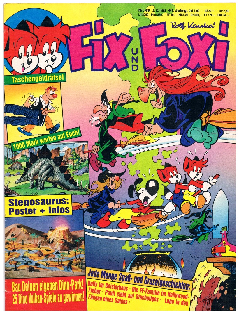 Fix und Foxi Comic Nr49 41Jahrgang