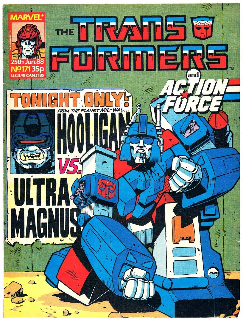 The Transformers - Comic Nr/No 171