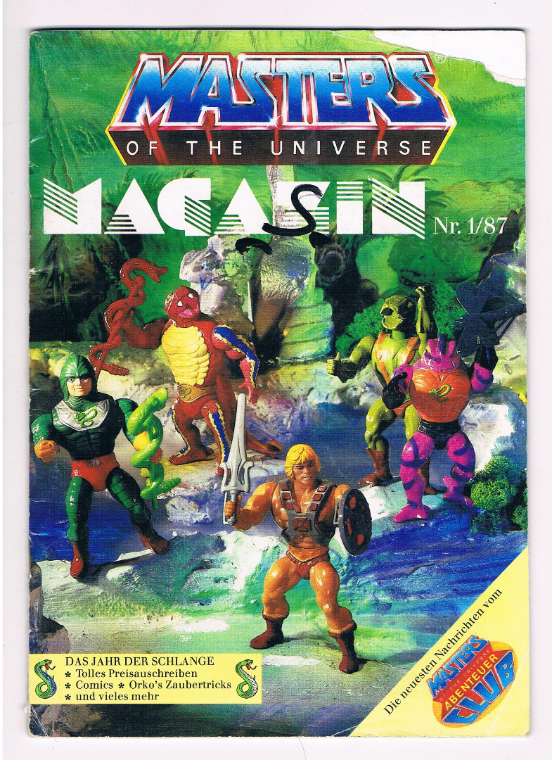 Masters of the Universe Magazin 1/87