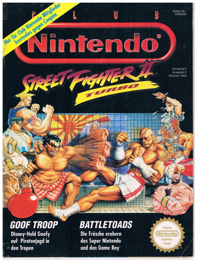 Ausgabe Oktober 1993 - Ausgabe 5