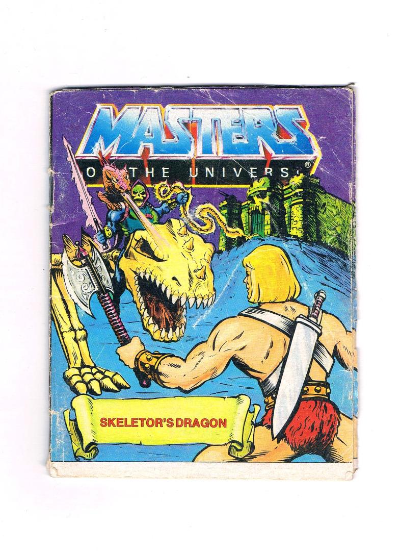 Skeletors Drachen - Mini Comic