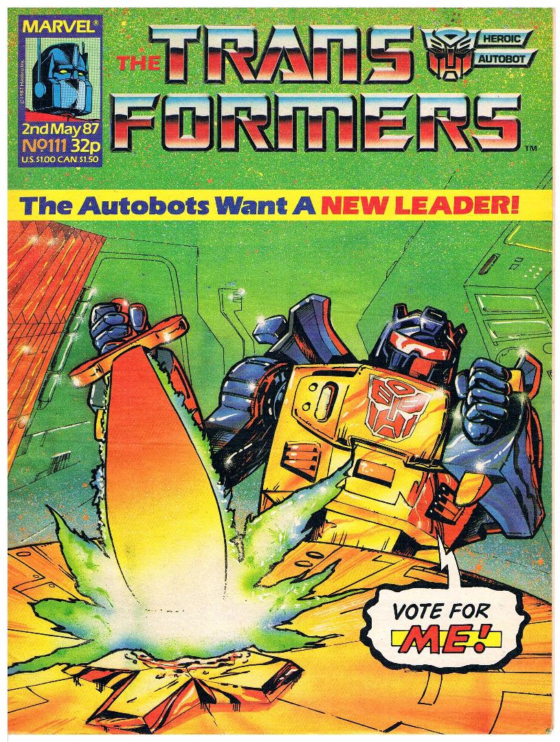 The Transformers - Comic Nr/No 111