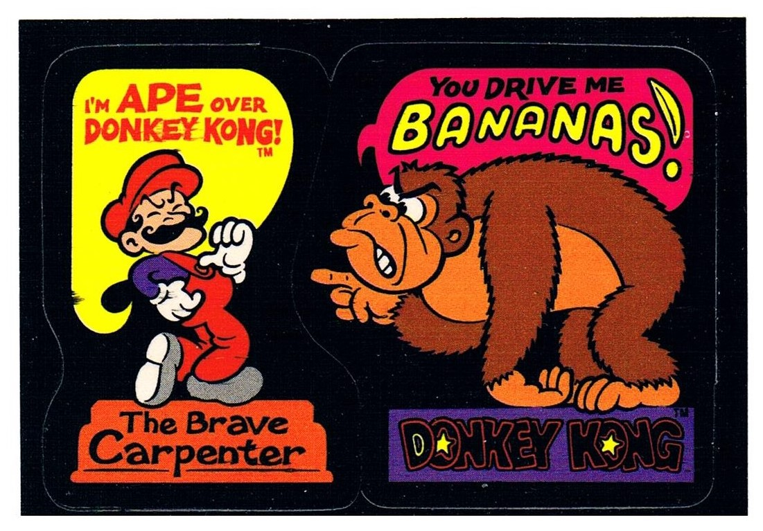 DONKEY KONG Sticker von Nintendo für