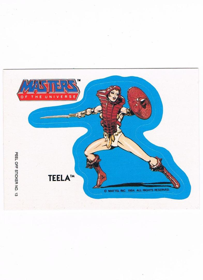 Teela Sticker von Topps