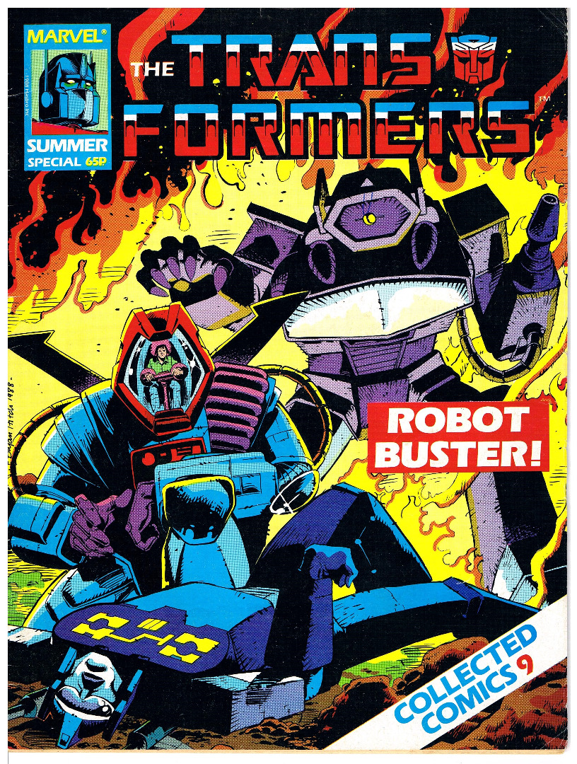 The Transformers Comic Generation G1 Summer