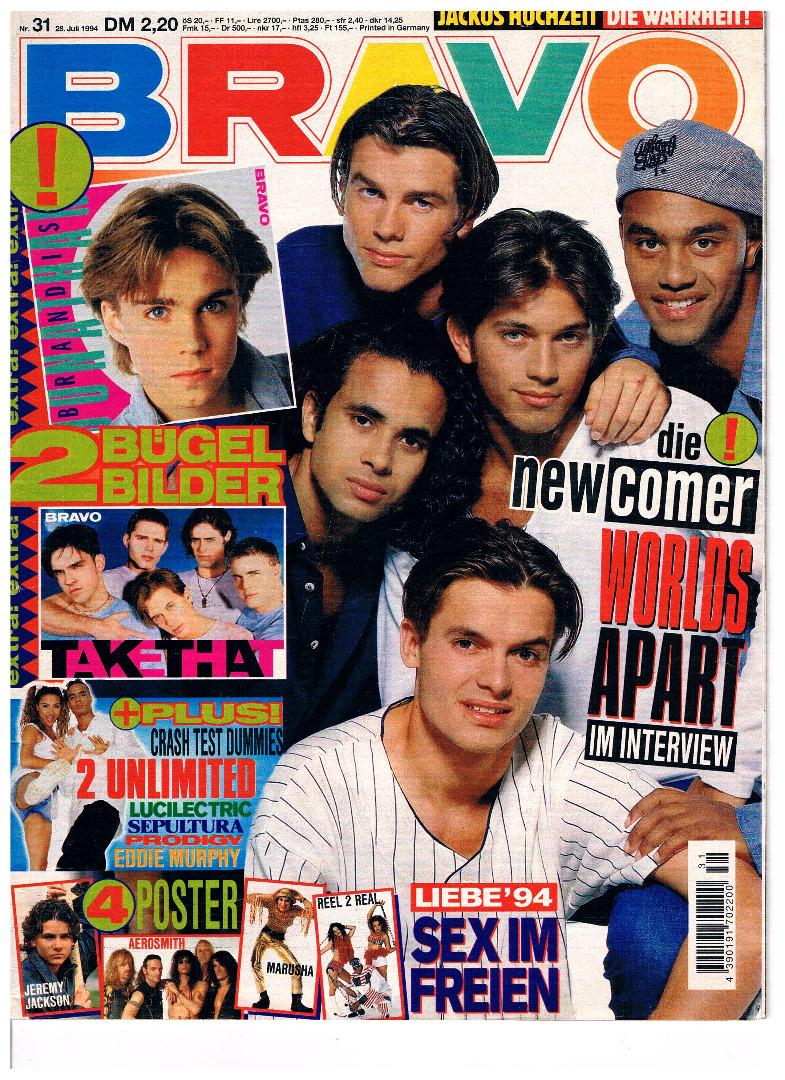 BRAVO Nr31 - 1994 - Jugend-Magazin