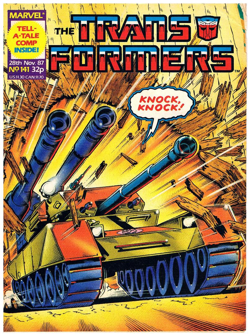 The Transformers - Comic Nr/No 141