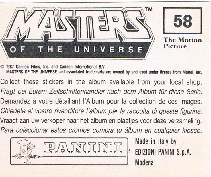 Panini Sticker Nr 58 2