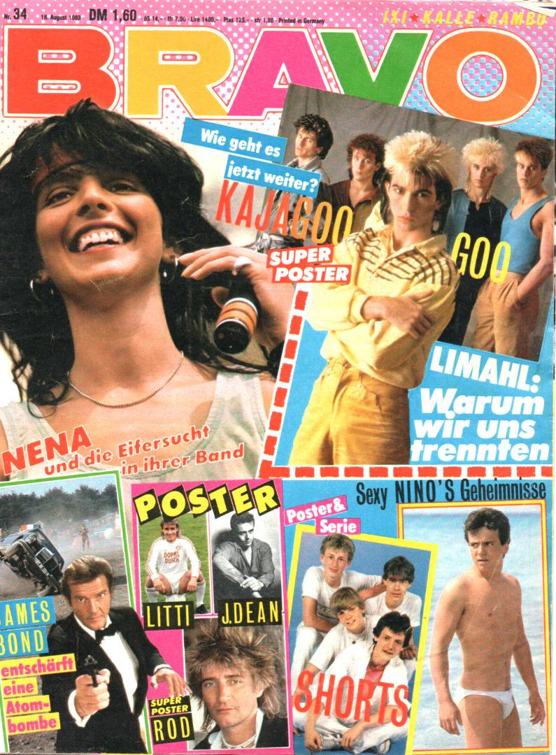 Bravo Nr.34 1983 Heft - 1
