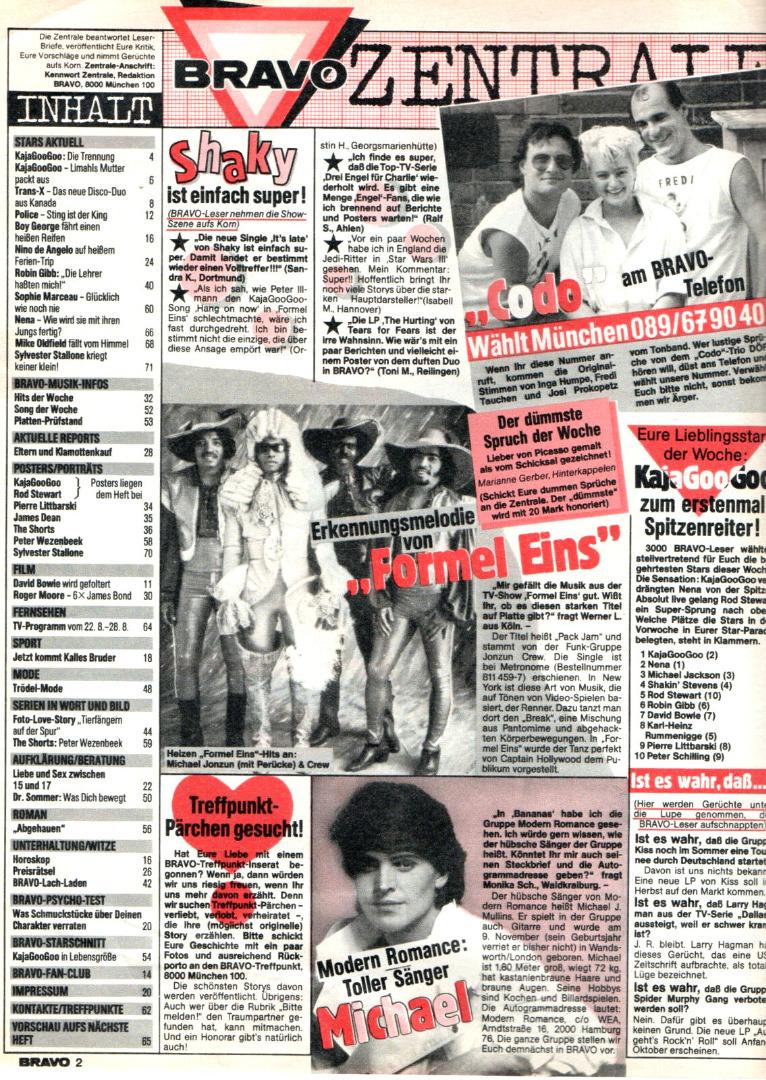 Bravo Nr.34 1983 Heft - 2