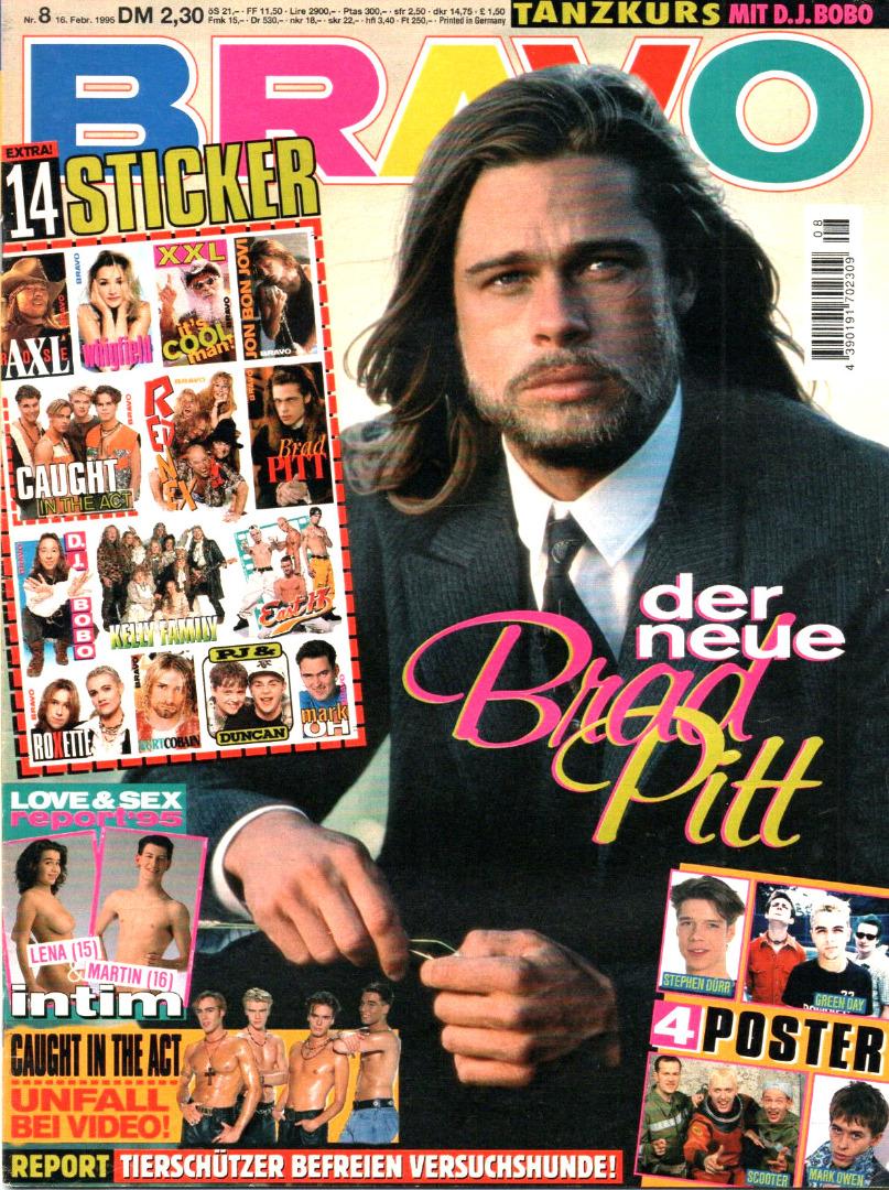 Bravo Nr.8 1995 Heft - Jetzt online Kaufen - 1