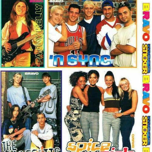 Bravo Sticker aus den 90ern 2