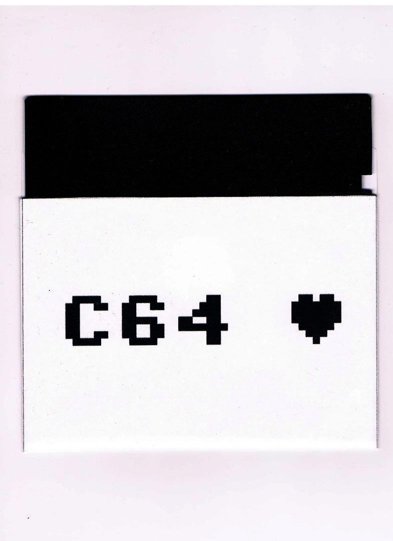 10x C64 Diskettenhüllen / Papierhüllen 525