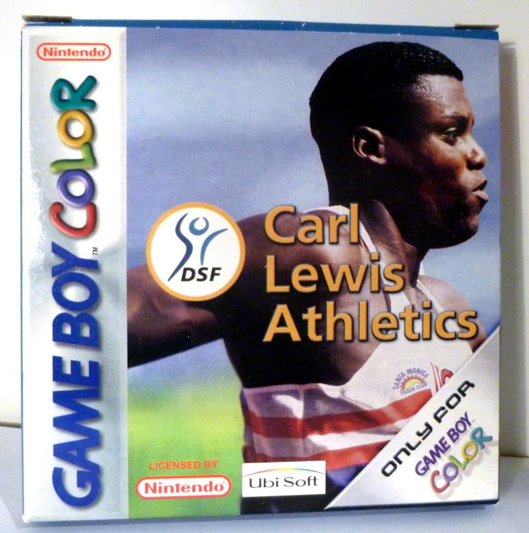 Carl Lewis Athletics Game Boy Color
