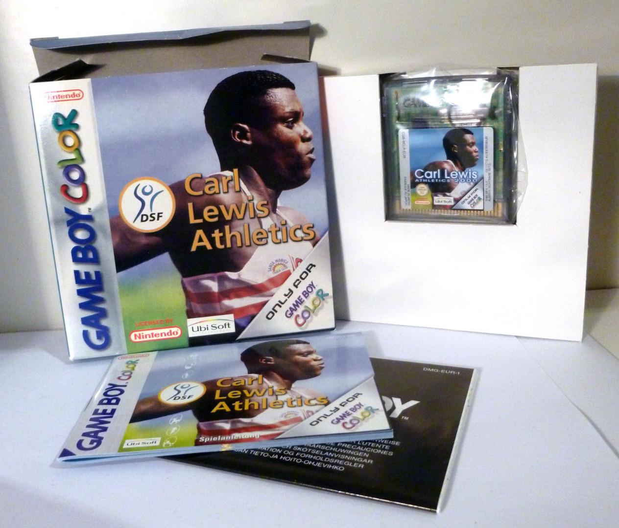 Carl Lewis Athletics - Game Boy Color - 2