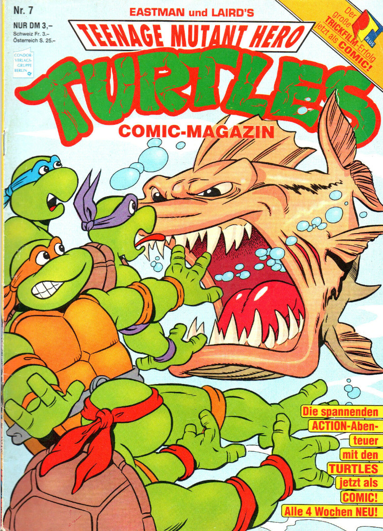 Teenage Mutant Hero Turtles Comic Nr