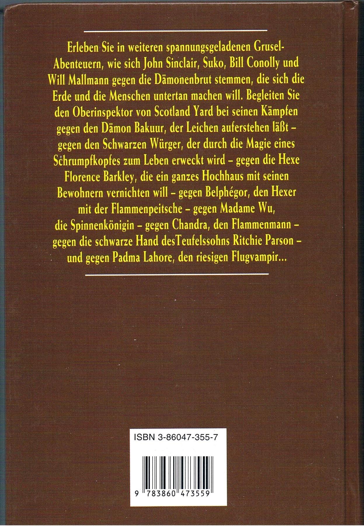 Dämonenbrut - Band 3 - Buch