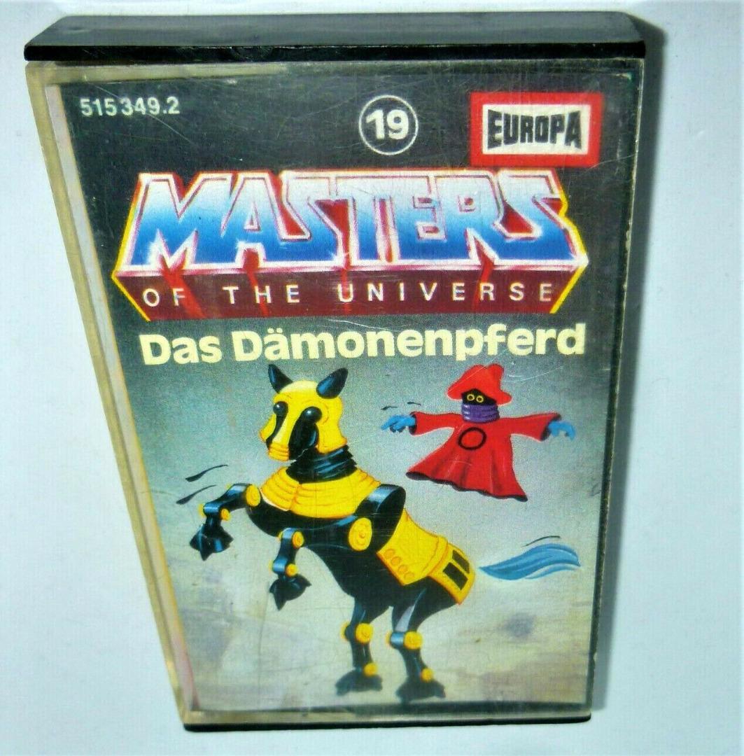 Das Dämonenpferd - Nr. 19 - Masters of the Universe / He-Man Hörspiel - 1