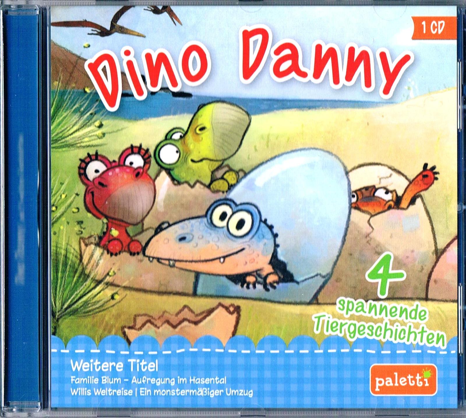 Dino Danny - 4 Spannende Tiergeschichten