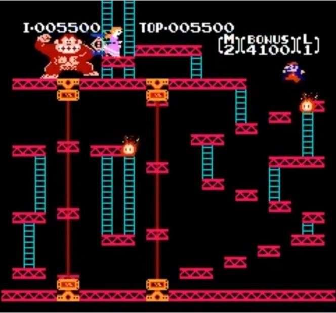 Nintendo NES - Donkey Kong -