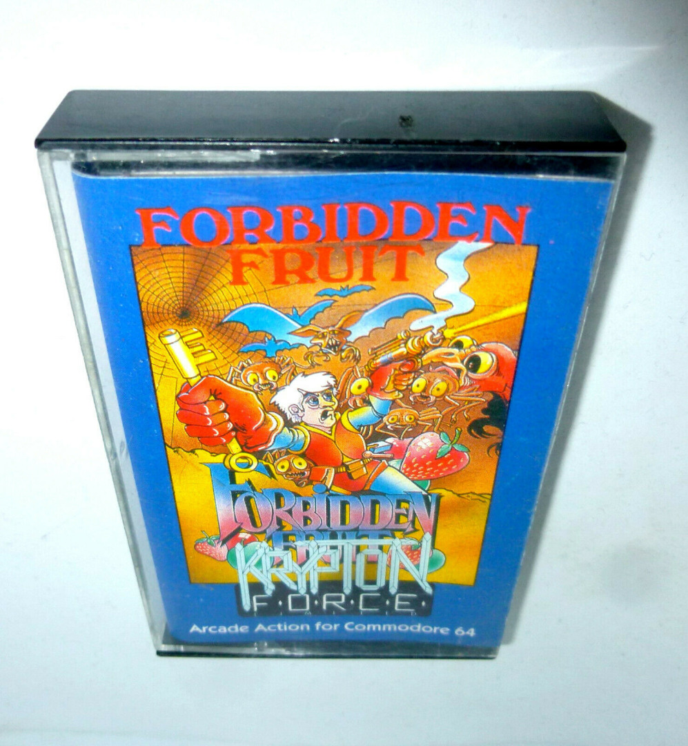 C64 Forbidden Fruit Kassette Datasette MC