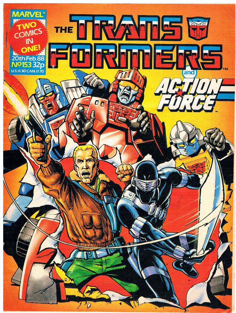 The Transformers - Comic Nr/No 153