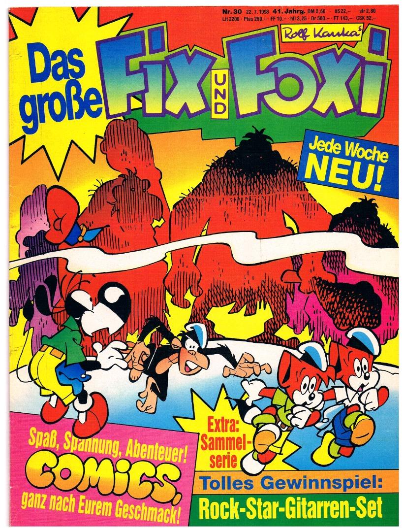Fix und Foxi Comic Nr30 41Jahrgang