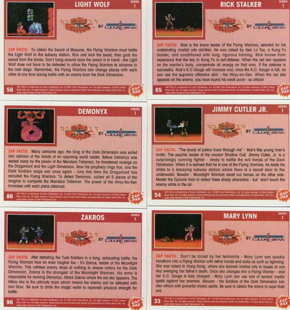 Nintendo NES - Flying Warriors 2