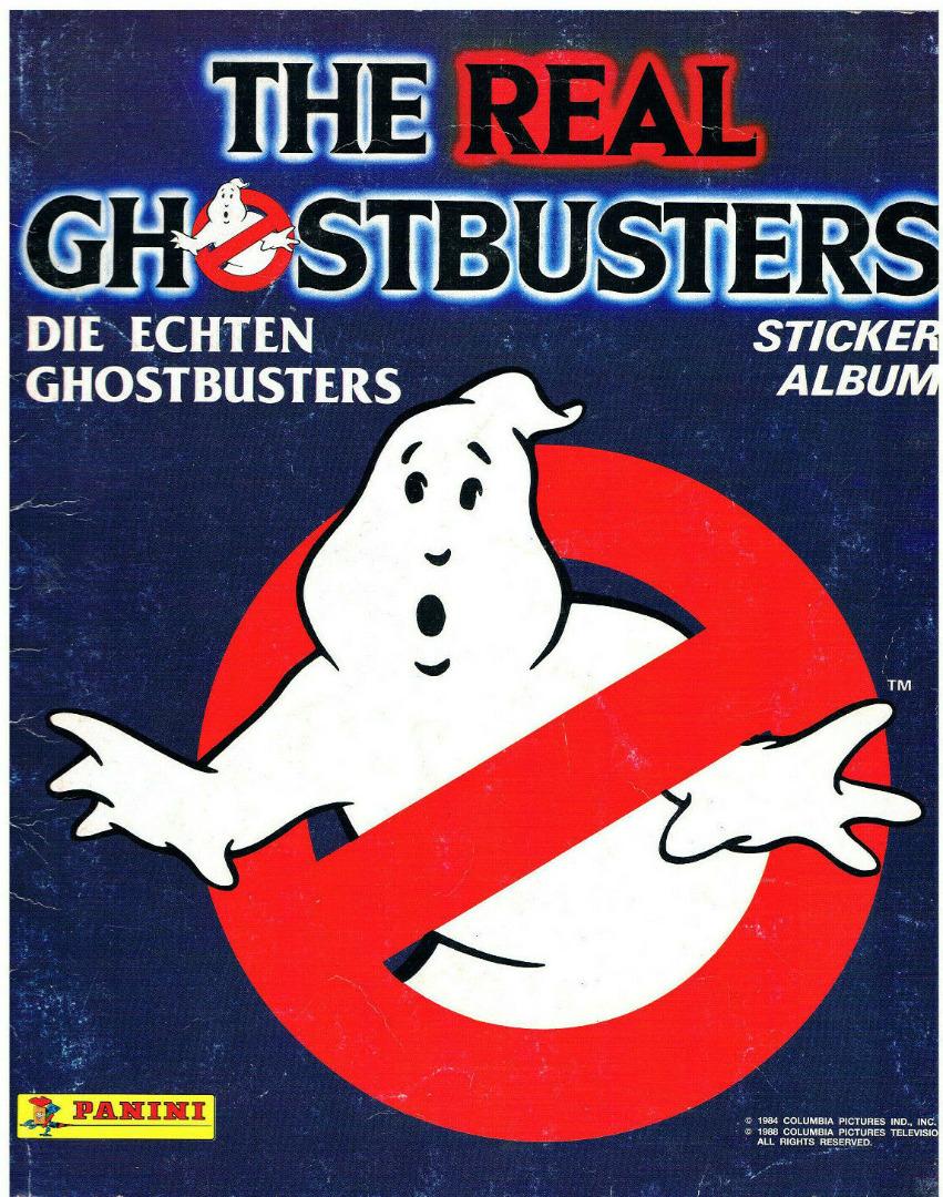The Real Ghostbusters Panini Stickeralbum Klebealbum