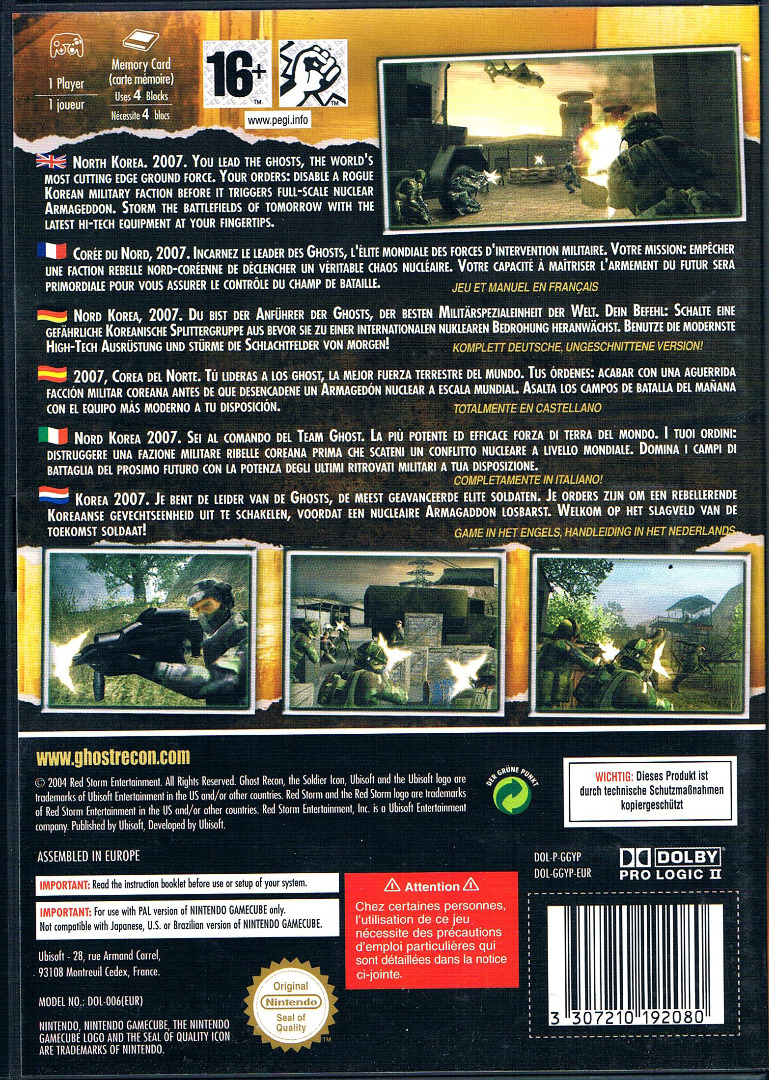 Tom Clancys Ghost Recon 2 2