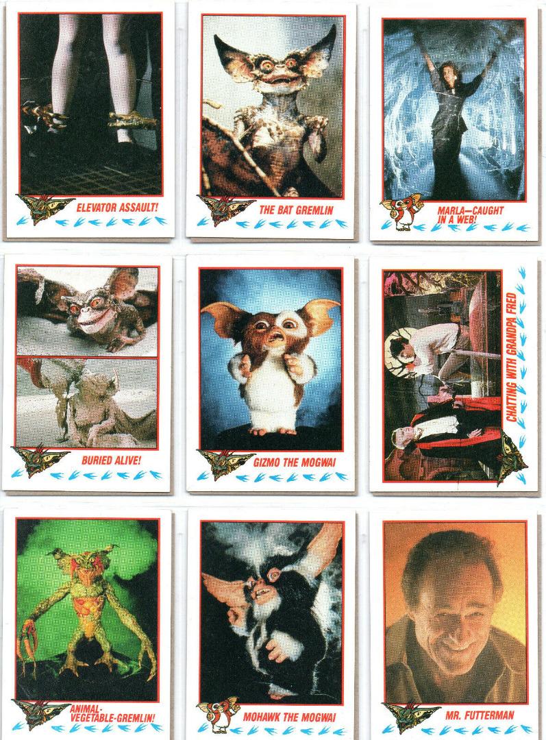 Gremlins 2 - 18 Trading Cards