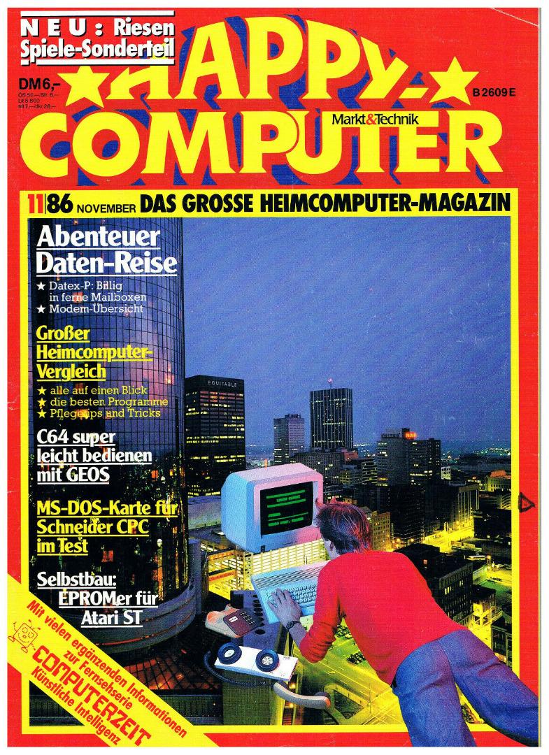 Happy Computer - 11/86 November