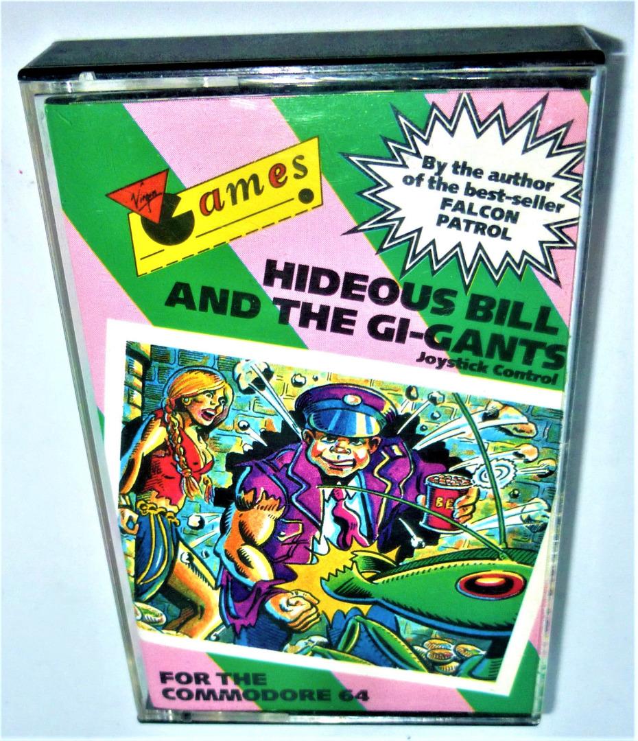 C64 - Hideous Bill and the Gi-Gants - Kassette / Datasette - 1