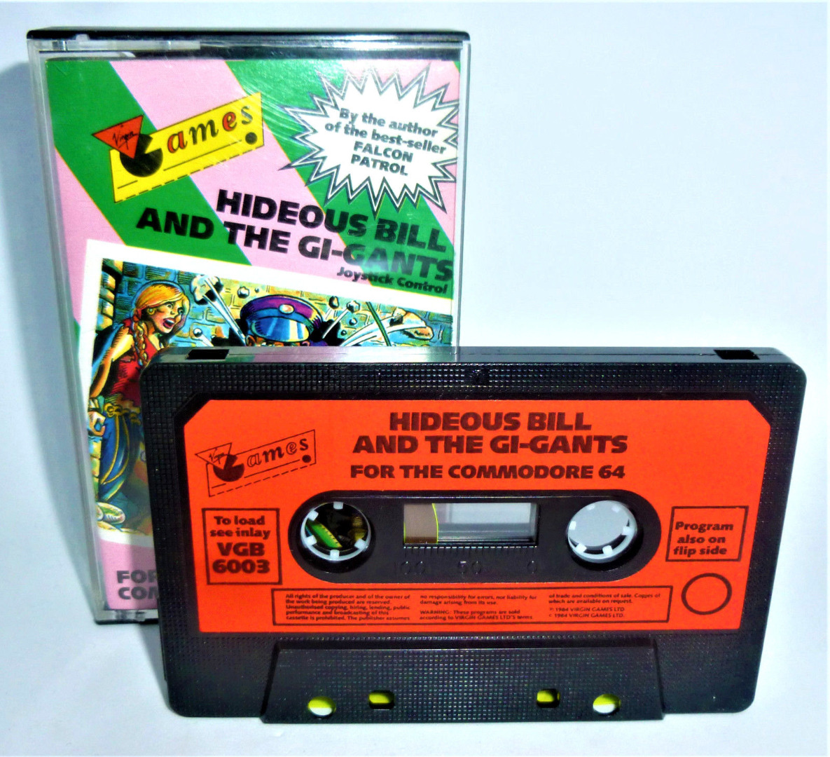 C64 - Hideous Bill and the Gi-Gants - Kassette / Datasette - 2