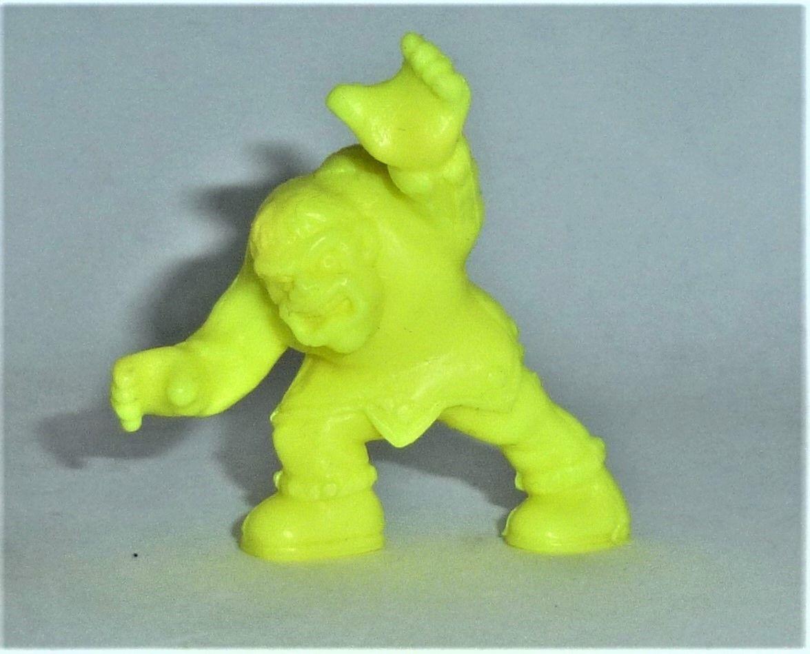 Monster in my Pocket - Hunchback - Figur neon gelb - 1