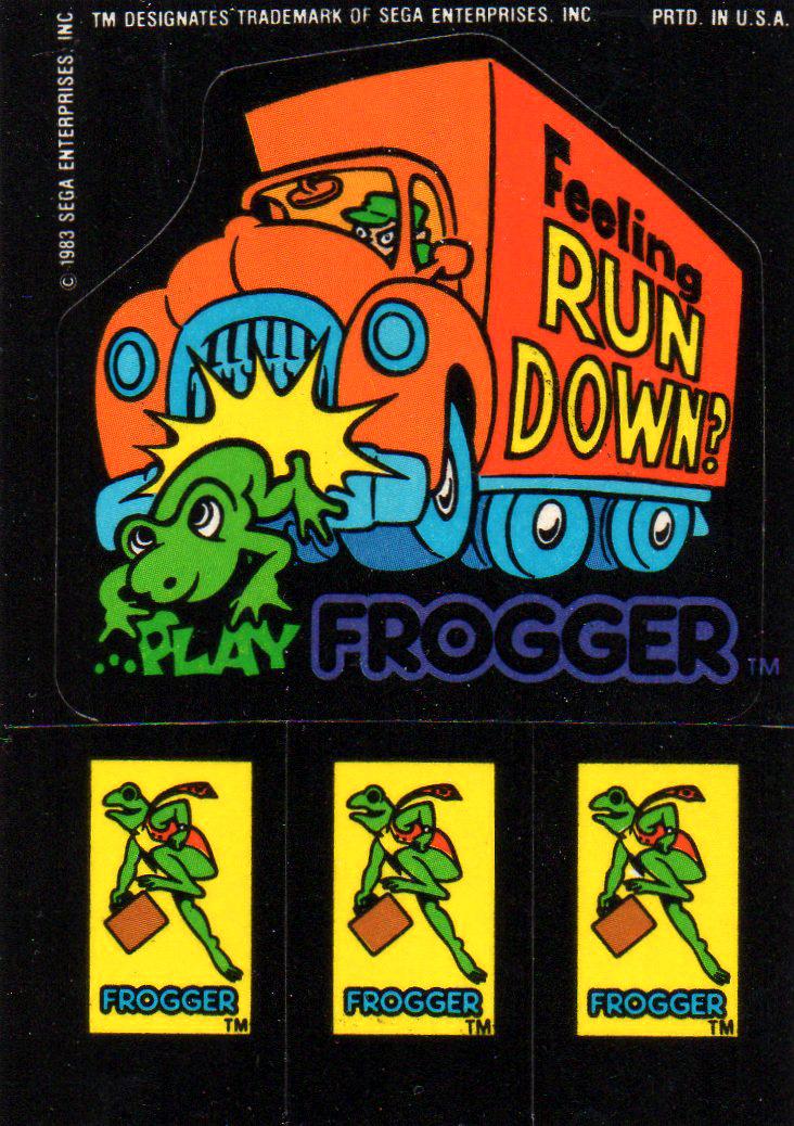 Frogger Feeling run down Play Frogger