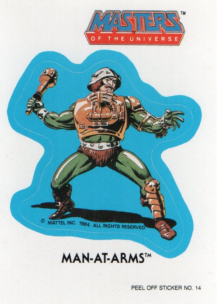 Man-At-Arms Sticker