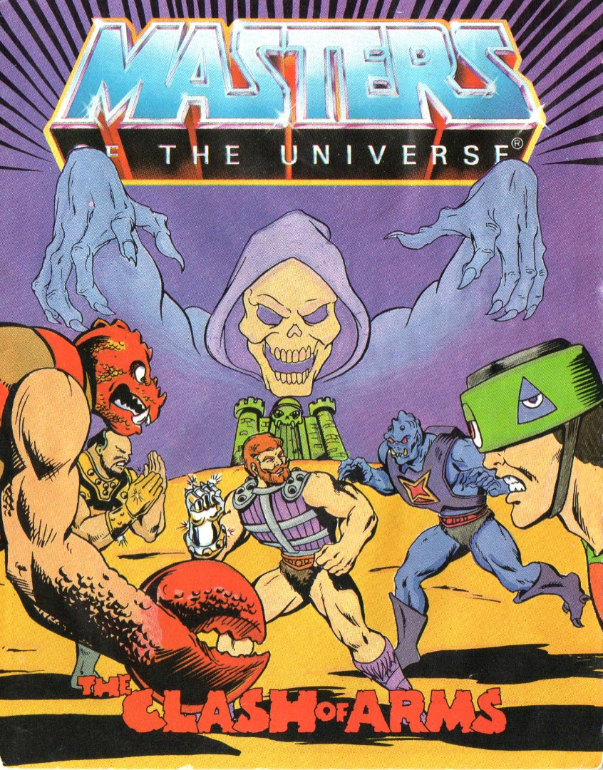 Masters of the Universe The Clash